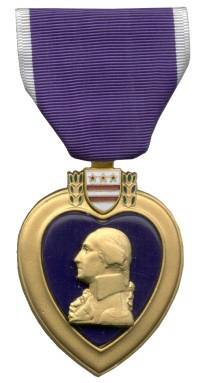 Badge of Military Merit (Purple Heart)