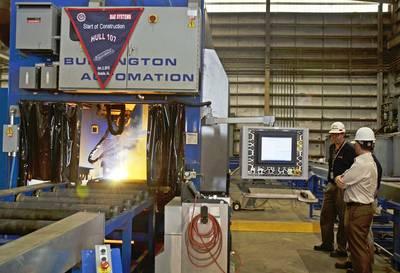 BAE Systems Mobile Shipyard