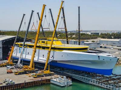 'Bajamar Express' (Hull 394) (Photo: Austal Australia)