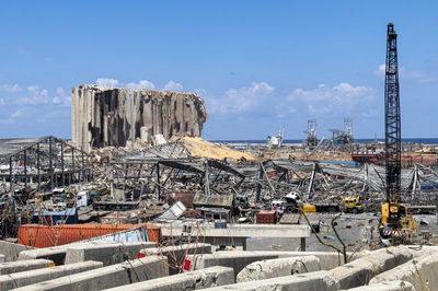 Beirut port after explosion. © Ali / AdobeStock