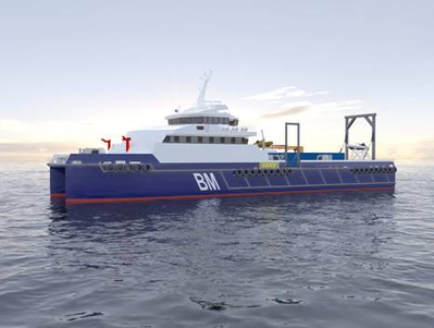 Bhagwan Marine's newbuild Dive Support Vessel incorporates Aspin Kemp & Associates' DC bus configuration derived from the company's XeroPoint Hybrid Marine Propulsion System.