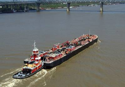 Bollinger redelivered a tank barge to Bouchard Transportation (Photo: Bollinger).