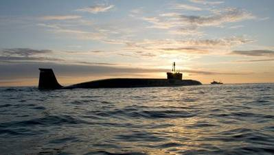 Borey-class submarine: Photo courtesy of USC