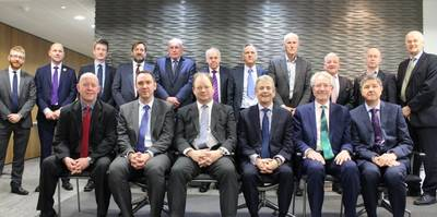 BPA Officers and Council. Photo: British Ports Association