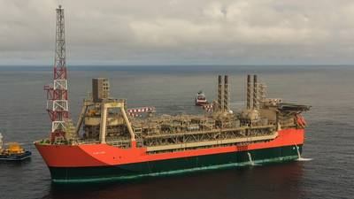 BP's newest North Sea asset, the Glen Lyon FPSO. (Image courtesy LR/BP)