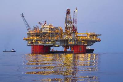 BP's Thunder Horse platform in the Gulf of Mexico. (Photo: BP)