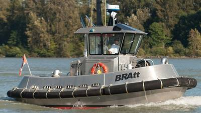 BRAtt Workboat: Photo courtesy of Robert Allan