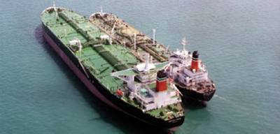 'British Pride' on Left: Photo credit BP Shipping