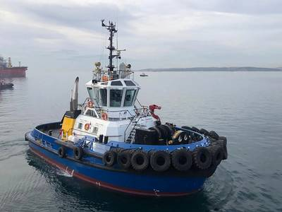 Built at Sanmar's Altinova Shipyard, Bogacay XXXlll is an example of the Sanmar RAmparts 2400SX design from Canadian naval architects Robert Allan Ltd. Photo: Sanmar