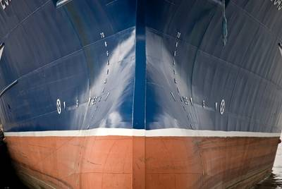 Bulk carrier bow: File photo