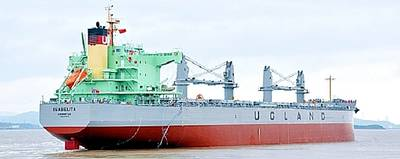 Bulk Carrier 'Isabelita' Photo courtesy of Ugland