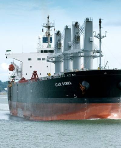 Bulk carrier: Photo courtesy of Star Bulk Carriers