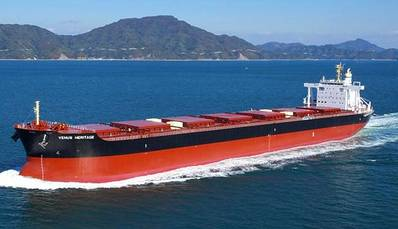 Bulk Carrier: Photo courtesy of Safe Bulkers