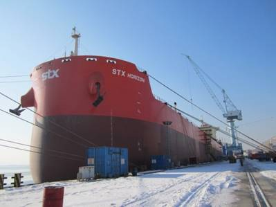 Bulk Ship 'STX Horizon': Photo credit STX Pan Ocean
