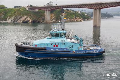 BV classed tug, Dux - now operating in Hammerfest, Norway. Image courtesy of Gondan Shipbuilders  (Photo: Bureau Veritas)