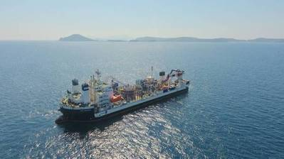 Cable Enterprise cable laying vessel. File Photo. Credit: Prysmian
