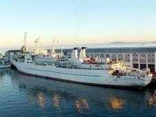 Cableship 'Chamarel': Photo credit France Telecom-Orange