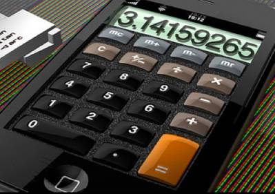Calculator credit Dominic Alves CCL