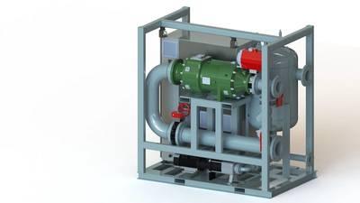 Calnetix Hydrocurrent ORC Module 125JW