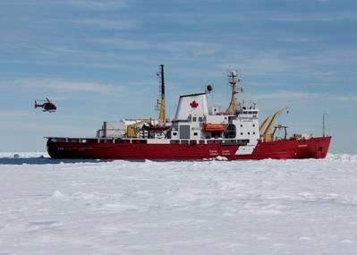 Canadian Coast Guard icebreaker CCGS Amundsen (Photo: Wärtsilä)