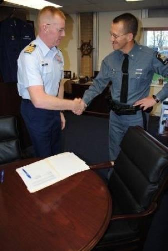 Capt. Brian Roche & Maj. David Page