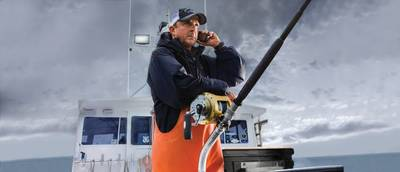 Captain Dave Carraro, fisherman and competitor on the television show Wicked Tuna (Photo: Globalstar)