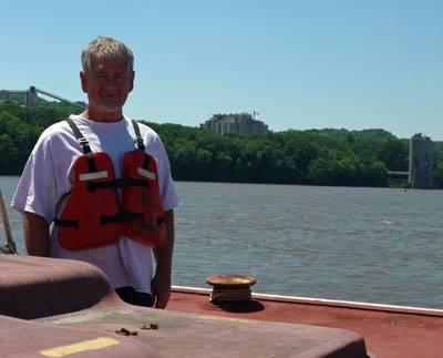 Captain Rusty Joyner of the Theresa Wood