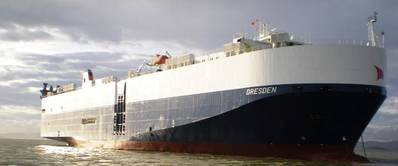 Car Carrier 'Dresden': Photo courtesy of Siem Car Carriers