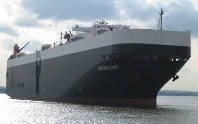 Car Carrier: Photo courtesy of International Shipholding Corporation