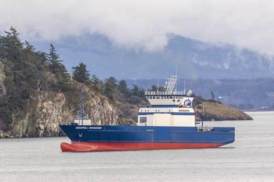 Cargo vessel Coastal Standard (Photo: Coastal Transportation)