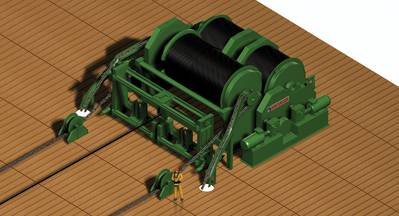 Cargotec's new electric winch series