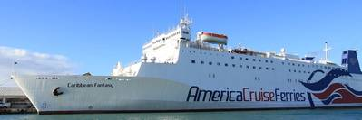 Caribbean Fantasy. Photo: America Cruise Ferries