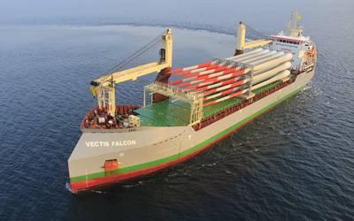 """Carisbrooke Shipping's """"Vectis Falcon"""""""