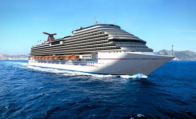 'Carnival Breeze': Image credit Carnival Corp.
