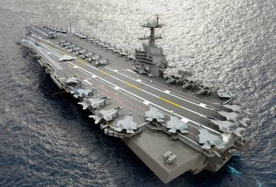 Carrier CVN 79: Artist's impression courtesy of NNS