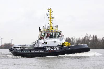 CARROUSEL RAVE TUG Multratug 32 (Photo: Damen Shipyards)