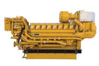 Cat C175-16 marine propulsion engine.