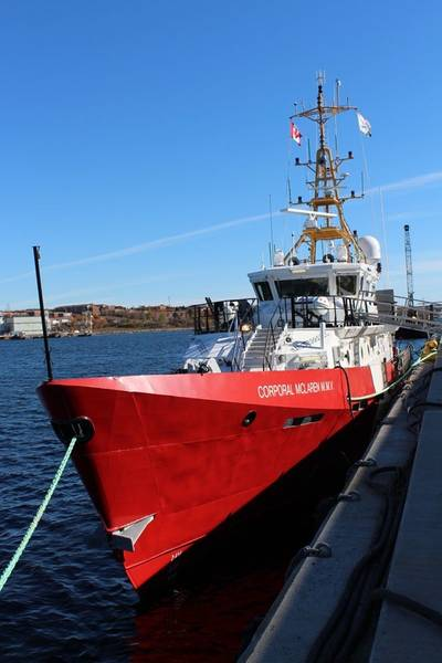 CCGS Corporal McLaren M.M.V.:Photo credit Canadian Govt.