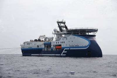CGG Oceanic Sirius  Photo:  CGG