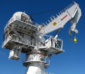 MacGregor 150-tonne active heave compensated subsea crane