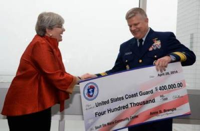 Check presentation: Photo USCG