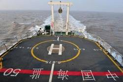 Chinese Haijian 50 Patrol Boat: Photo credit Xinhua