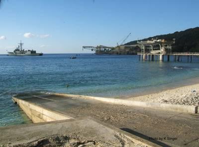 Christmas Island: Photo credit K.Singer, Australian Govt.