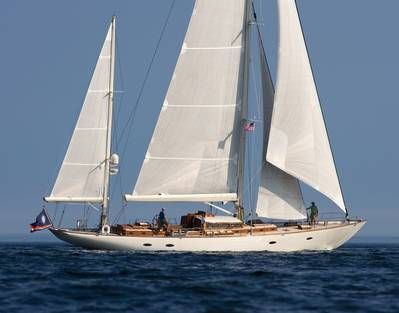 Classic Sailboat: Image credit Alison Langley