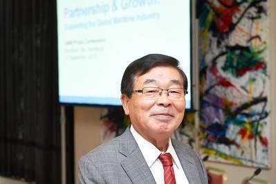 ClassNK Chairman and President Noboru Ueda (image courtesy ClassNK)