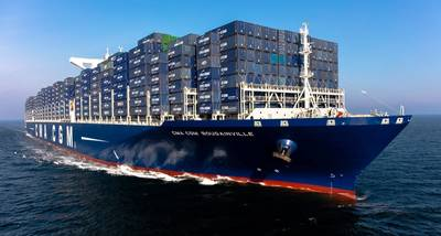 CMA CGM Bougainville (Copyright Plisson)