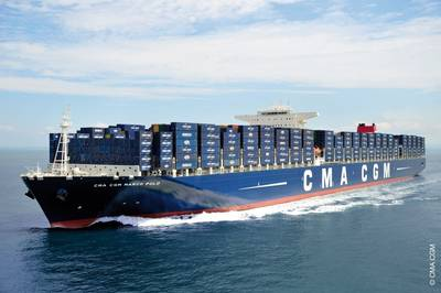 CMA CGM Marco Polo: Photo credit CMA CGM