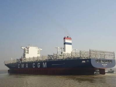 CMA CGM Tigris (Photo courtesy of CMA CGM)
