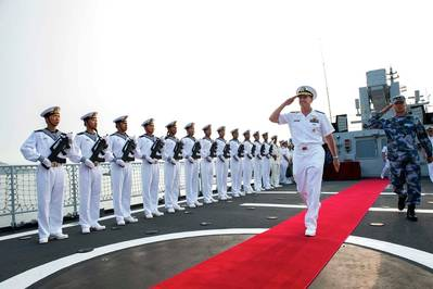 CNO's China visit: Photo USN