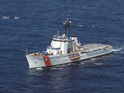 Coast Guard Cutter Decisive (USCG photo)